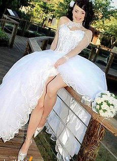 Развратные невесты голые, обнажённые(94 фото) - фото #6