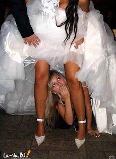 Развратные невесты голые, обнажённые(94 фото) - фото #15