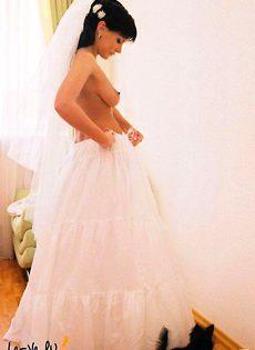 Развратные невесты голые, обнажённые(94 фото) - фото #24