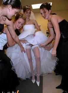 Развратные невесты голые, обнажённые(94 фото) - фото #37