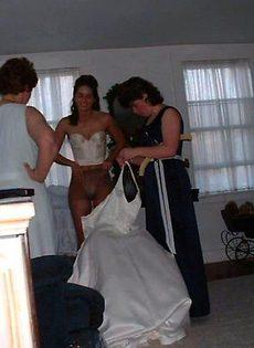 Развратные невесты голые, обнажённые(94 фото) - фото #45