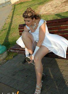 Развратные невесты голые, обнажённые(94 фото) - фото #53