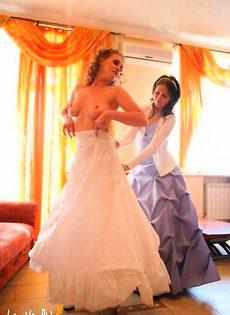 Развратные невесты голые, обнажённые(94 фото) - фото #55