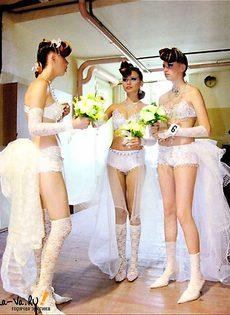 Развратные невесты голые, обнажённые(94 фото) - фото #60