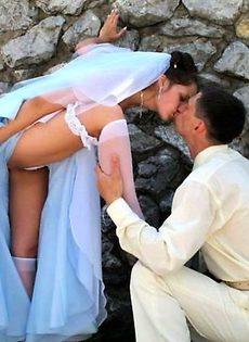 Развратные невесты голые, обнажённые(94 фото) - фото #61
