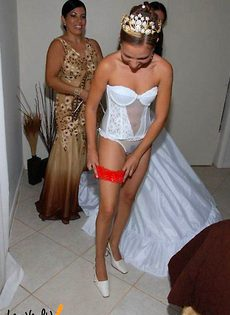 Развратные невесты голые, обнажённые(94 фото) - фото #65