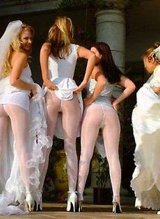 Развратные невесты голые, обнажённые(94 фото) - фото #74