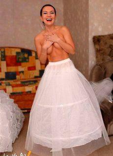 Развратные невесты голые, обнажённые(94 фото) - фото #78