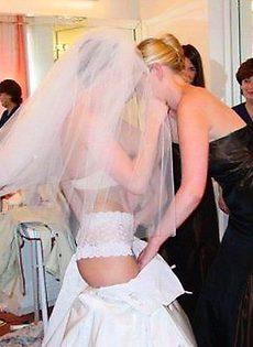 Развратные невесты голые, обнажённые(94 фото) - фото #79