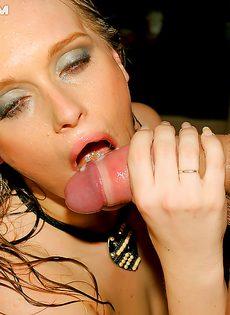 Пьяная секс тусовка с молоденькими студентками прошла отлично - фото #15
