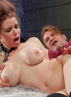 Классный секс с грудастой зрелой женщиной после шикарного отсоса - фото #4