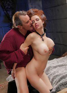 Классный секс с грудастой зрелой женщиной после шикарного отсоса - фото #5