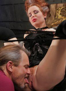 Классный секс с грудастой зрелой женщиной после шикарного отсоса - фото #6