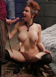 Классный секс с грудастой зрелой женщиной после шикарного отсоса - фото #8