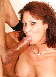 Трахнулась и насладилась спермой полового партнера - фото #10
