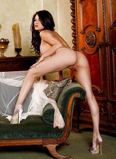 Женственная милашка очень быстро возбудилась - фото #14