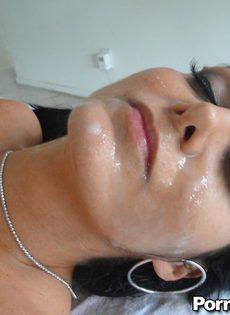 Мамка Ава Аддамс получает большой член в мокрую дырку - фото #16