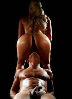 Невероятно красивый оральный секс влюбленных - фото #7