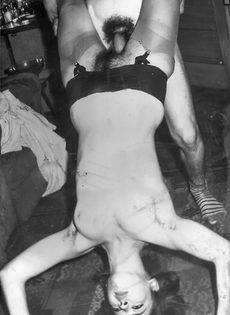 Возбуждающие ретро фото с сексуальными развлечениями - фото #12