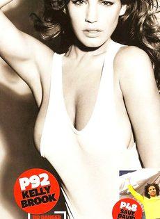 Келли Брук топлесс - фото #1