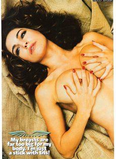 Келли Брук топлесс - фото #4