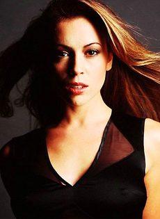 Сексуальные фото Алиссы Милано (Alyssa Milano) - фото #8