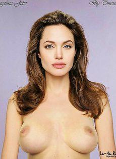 Анжелина Джоли заснята в откровенных фото - фото #10