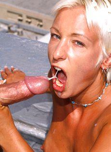 Анальный секс на крыше - фото #59