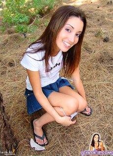 Девушка с маленькими сиськами и хорошей попкой