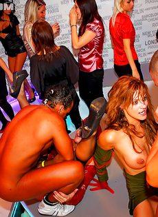 Мускулистые парни порят незнакомых сучек на вечеринке