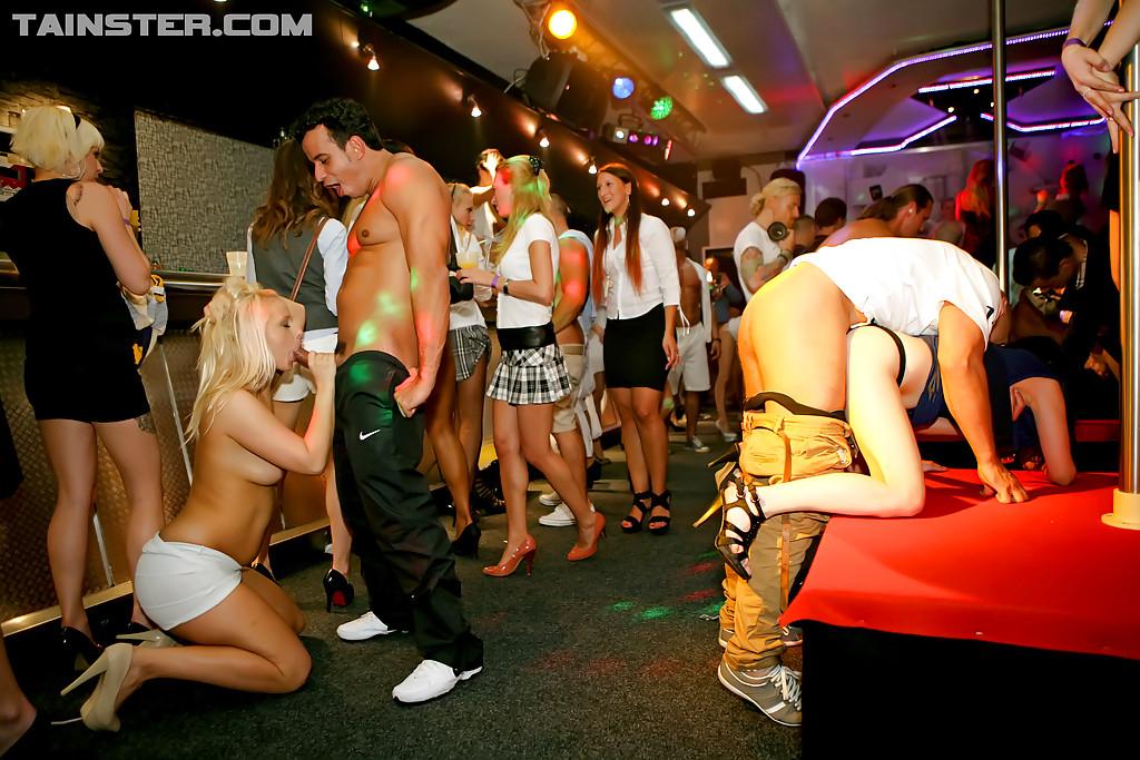 Вечеринка в ночном клубе прошла идеально