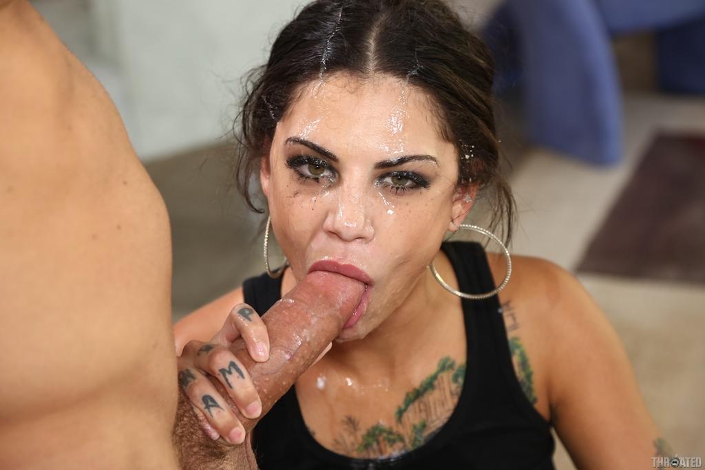 Bonnie Rotten Deepthroat Porn Pics