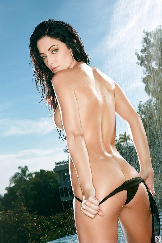 Красивые фотографии темноволосой девушки со стройной фигурой