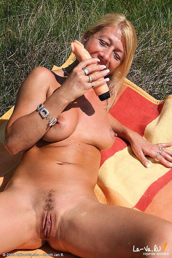 Устроила себе пик ник в лесу на опушке - фото #4