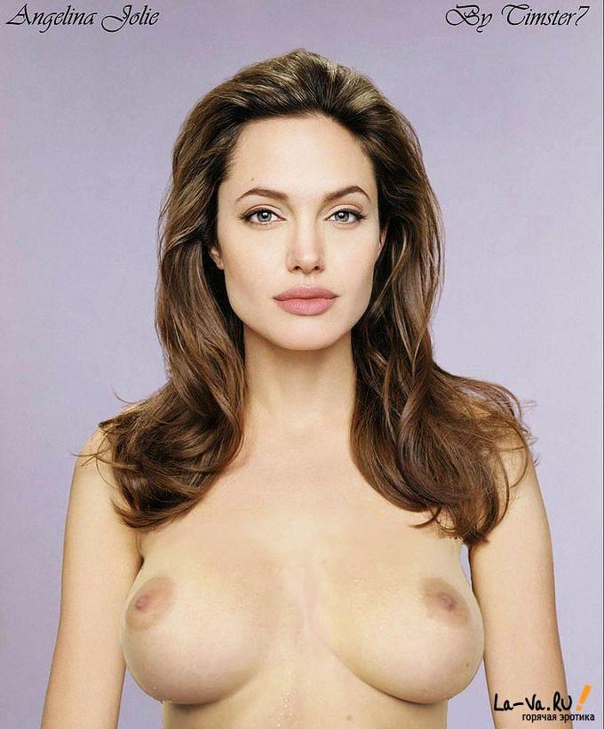 Анжелина Джоли заснята в откровенных фото
