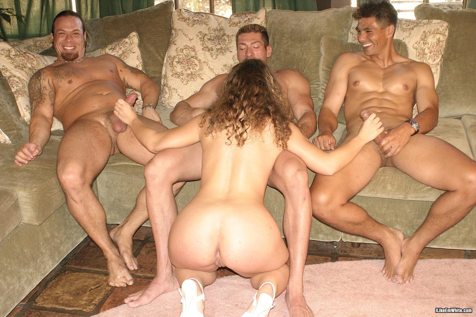 Толпа мужиков по очереди кончают в одну сперма из дырок 14 фотография