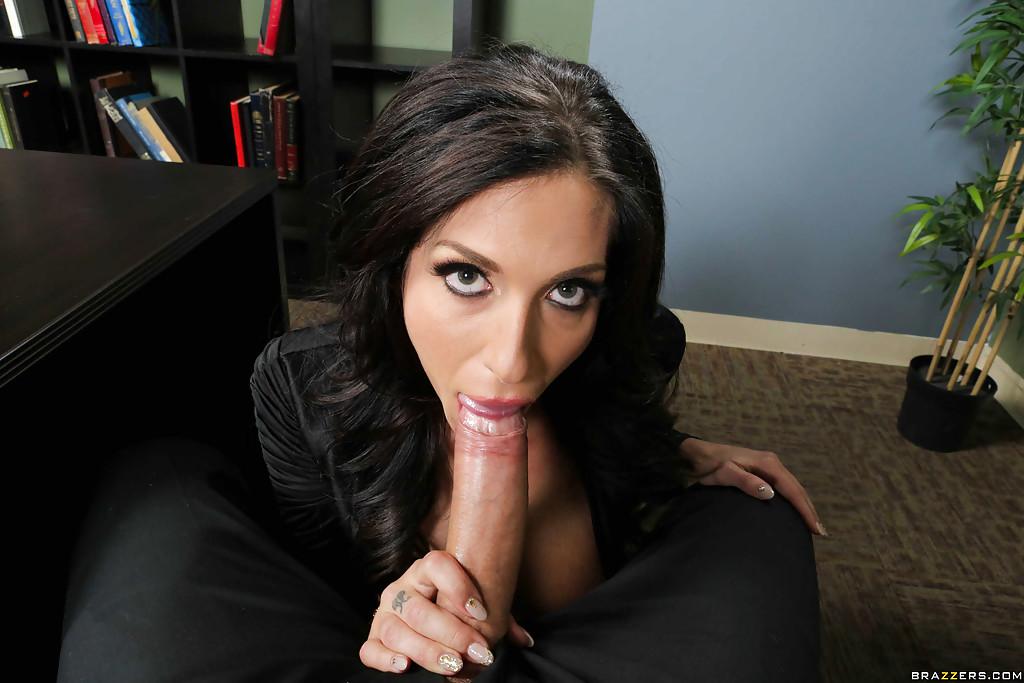 Hot Brunette Sucks Fat Cock In The Office Galery Porn